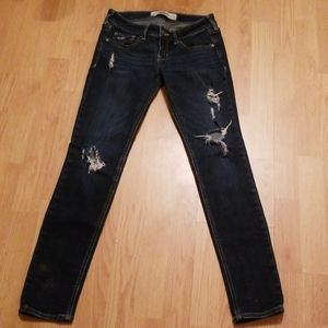 0s hollister distressed jeans